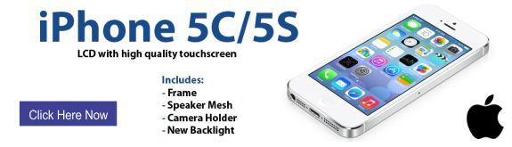 Maxbhi Apple iPhone 5c & 5S LCD Screen