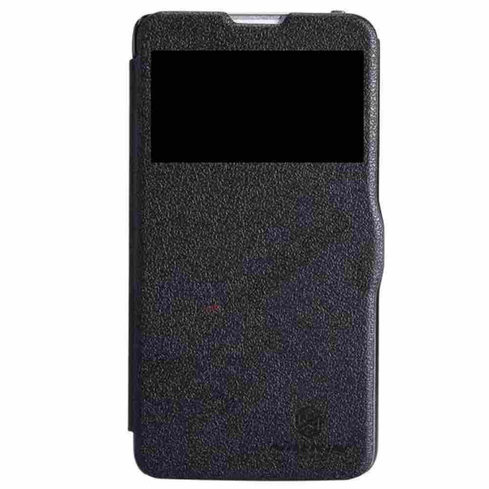info for 29318 06fec Flip Cover for LG G Pro Lite D686 - Black