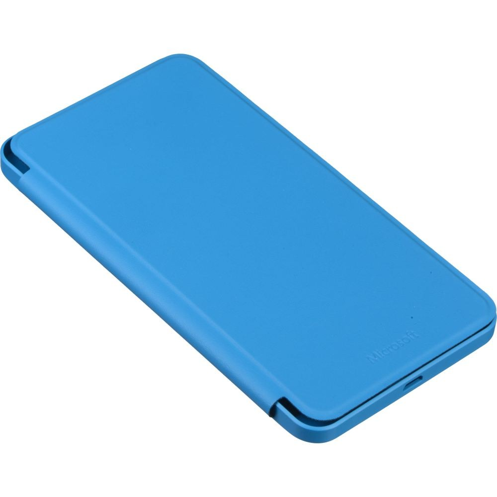 buy popular 3d140 96c51 Flip Cover for Microsoft Lumia 640 XL LTE Dual SIM - Blue