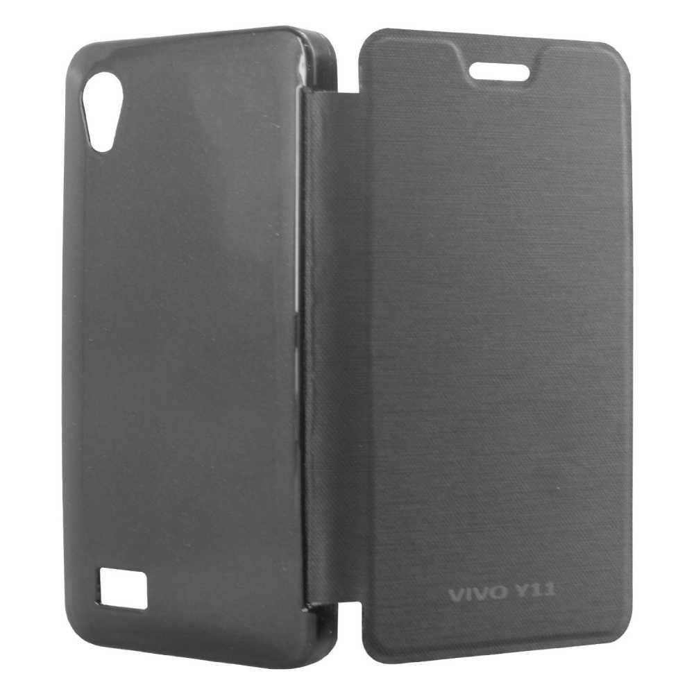 info for bff75 b1efd Flip Cover for Vivo Y11 - Black