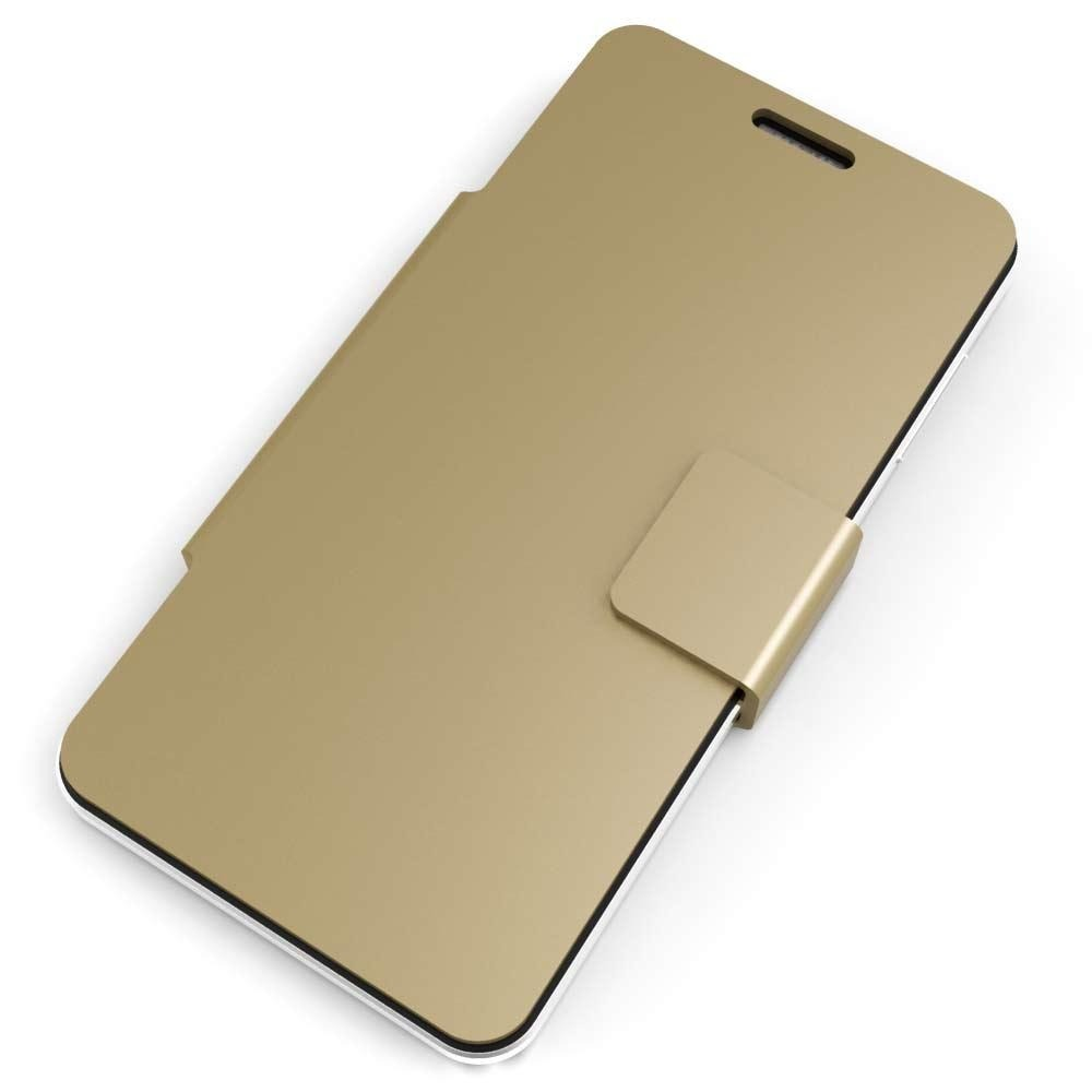 Flip Cover for Intex Aqua Star 2 HD - Gold