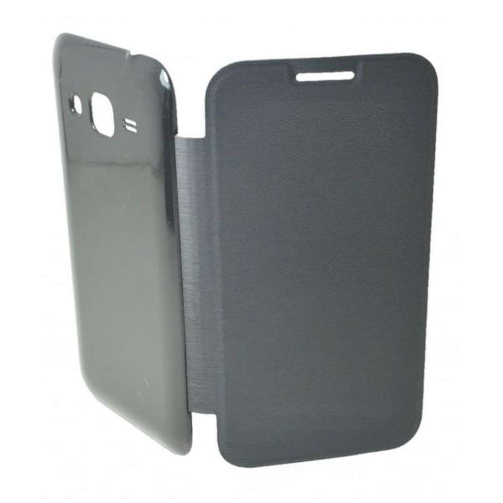 online store 750c1 602cb Flip Cover for Samsung Galaxy Core Prime 4G - Grey