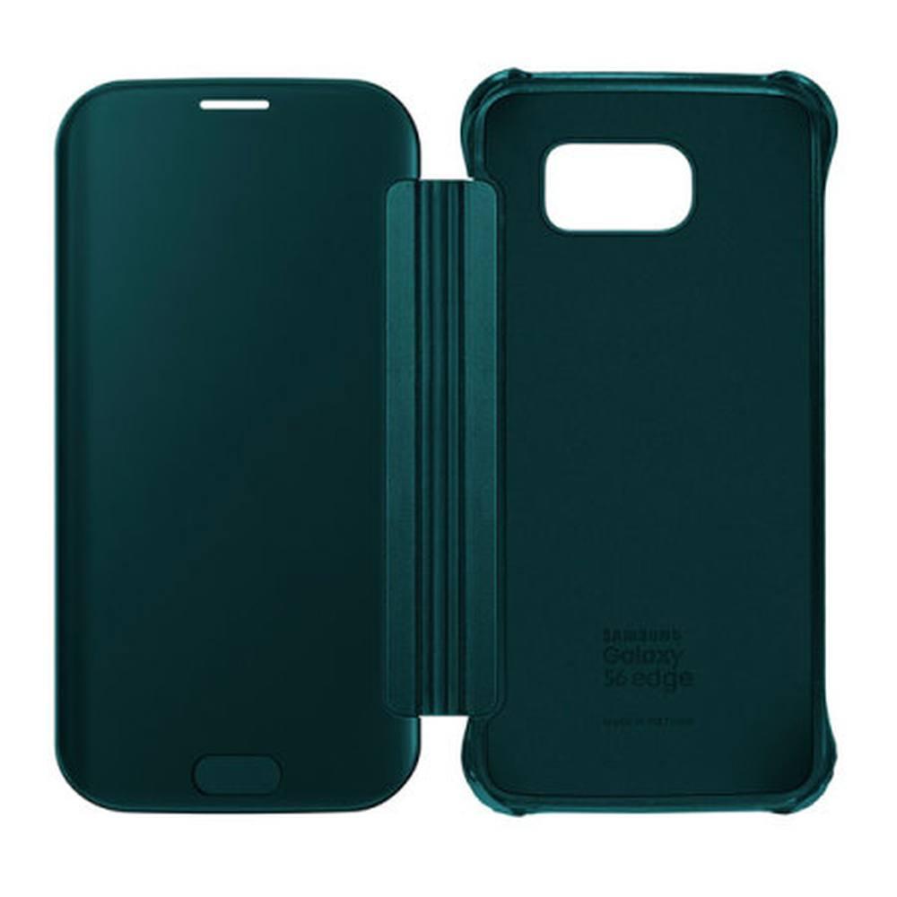 cheaper 89712 23ca5 Flip Cover for Samsung Galaxy S6 Edge - Green