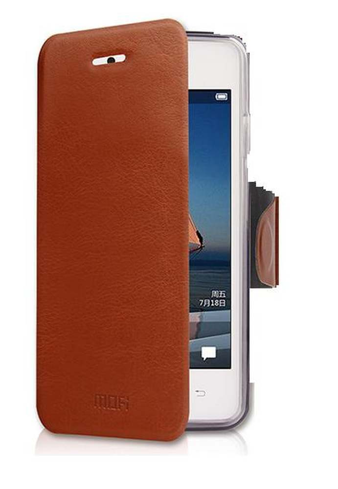 new styles 19716 f9edb Flip Cover for Vivo Y11 - Brown