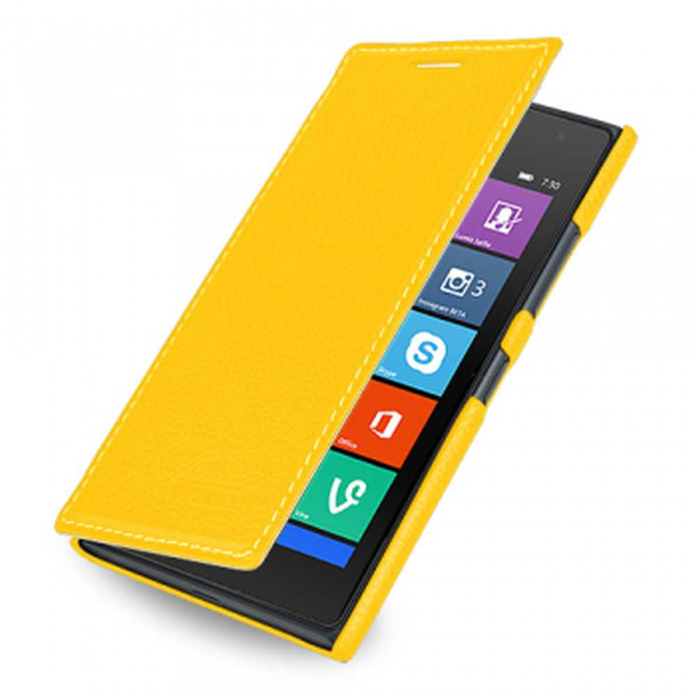 new products 1edb7 1ae2d Flip Cover for Nokia Lumia 730 - Yellow