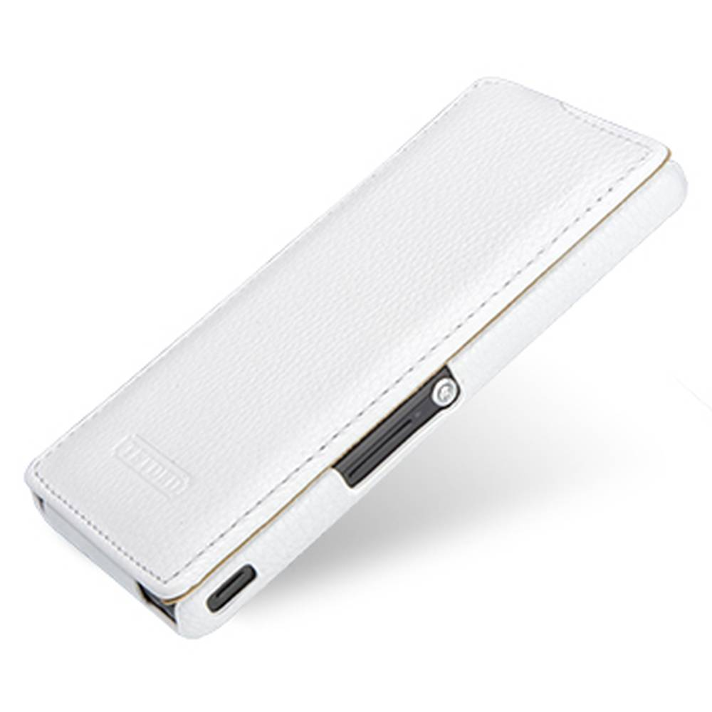 quality design 7bdd1 b29f6 Flip Cover for Sony Xperia ZR - White