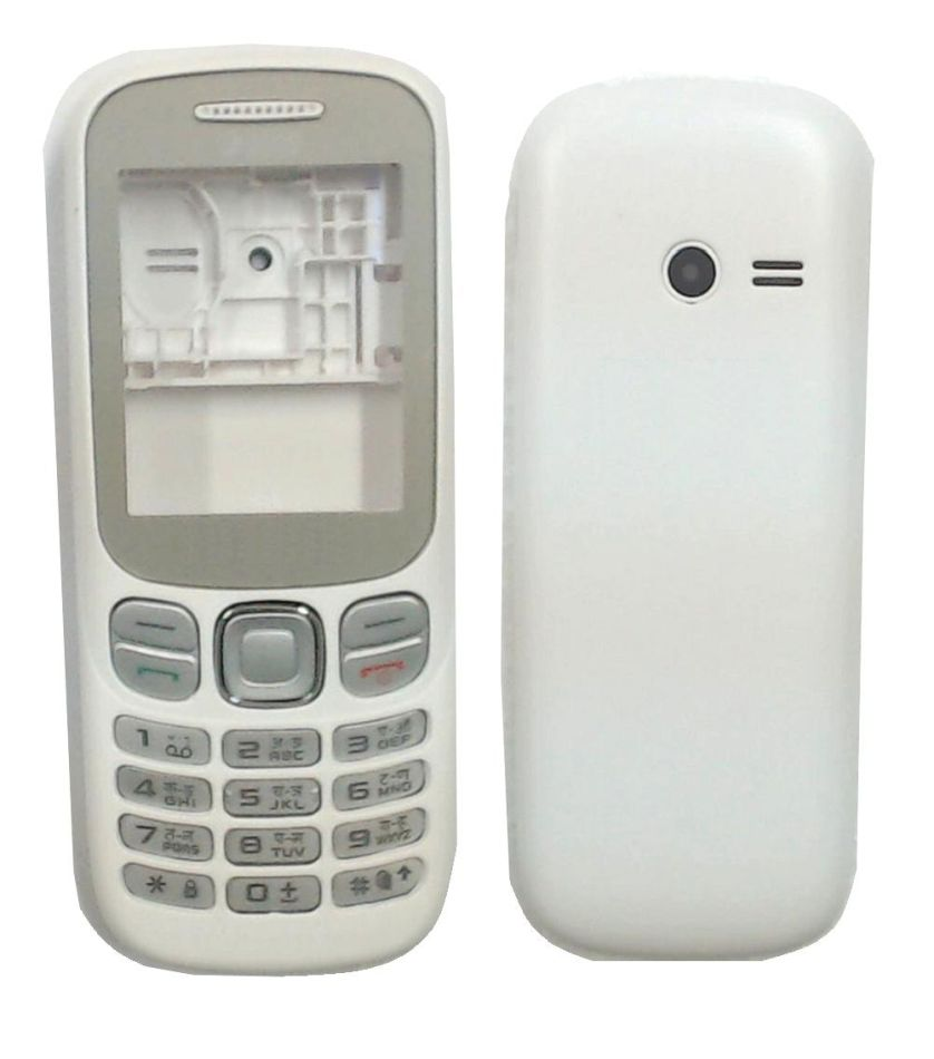 Full Body Housing For Samsung Metro B313 White - Maxbhi.com