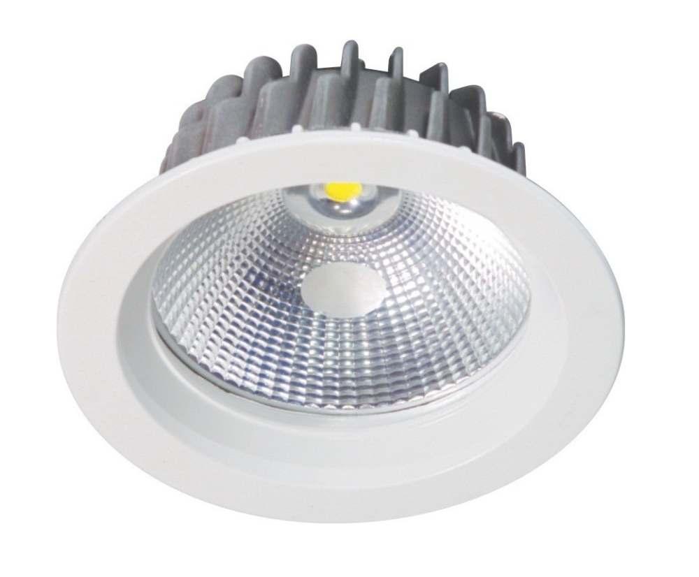 10 Watt LED Arise COB Round Down Light - 120 mm, White