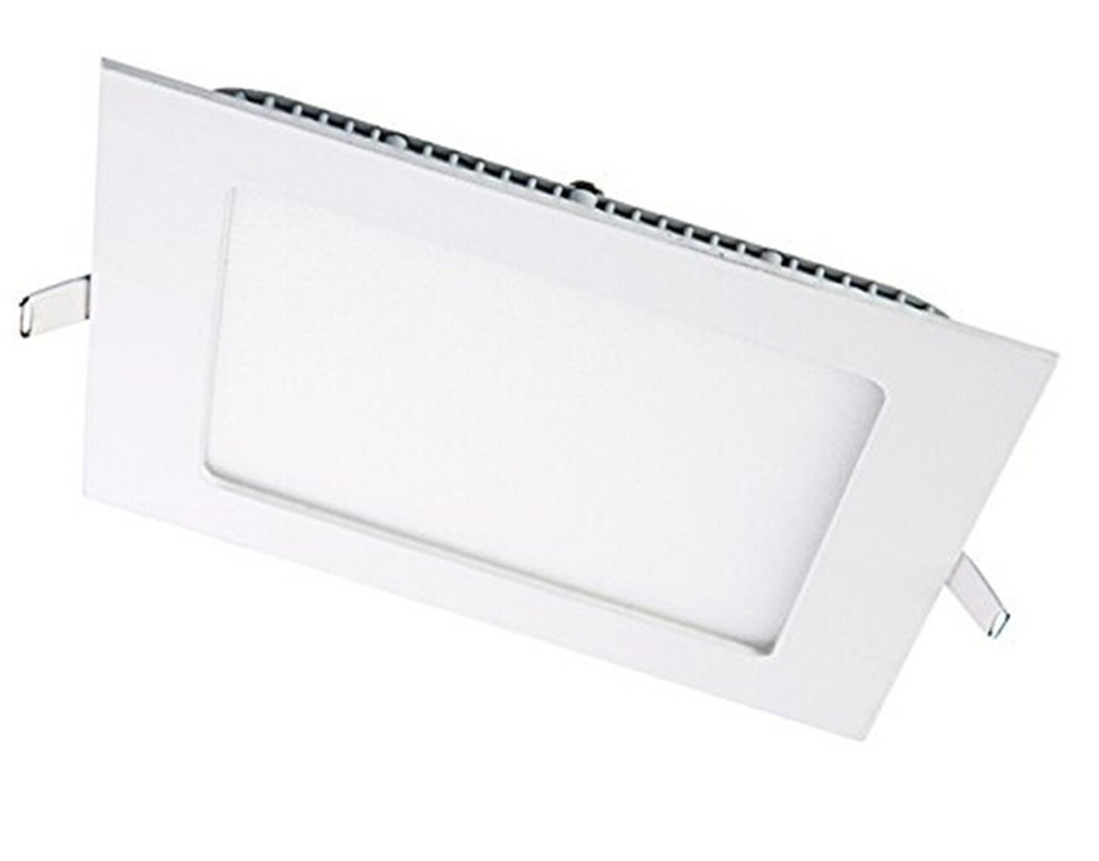 15 Watt LED Elite Square Panel Down Light - 185 mm, White