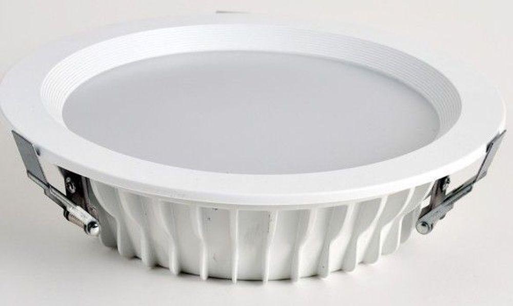 18 Watt ECOPLUS LED Round Down Light - 160 mm, White
