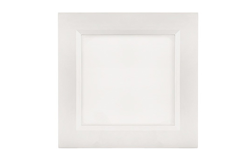 18 Watt LED Enrich Square Down Light - 182 mm, White
