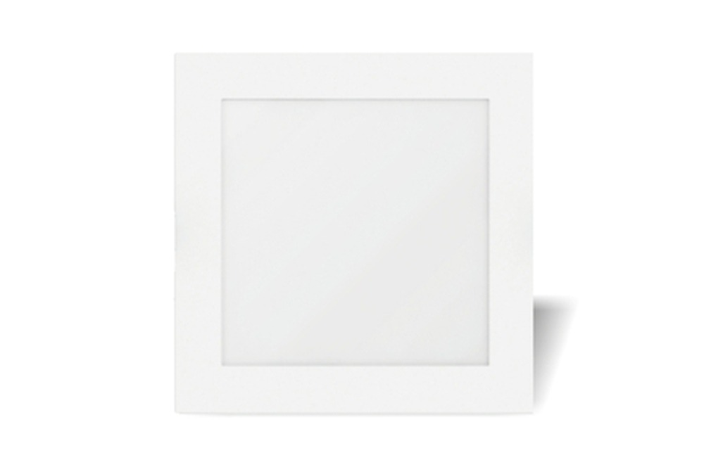22 Watt LED Sleek Square Down Light - 180 mm, White