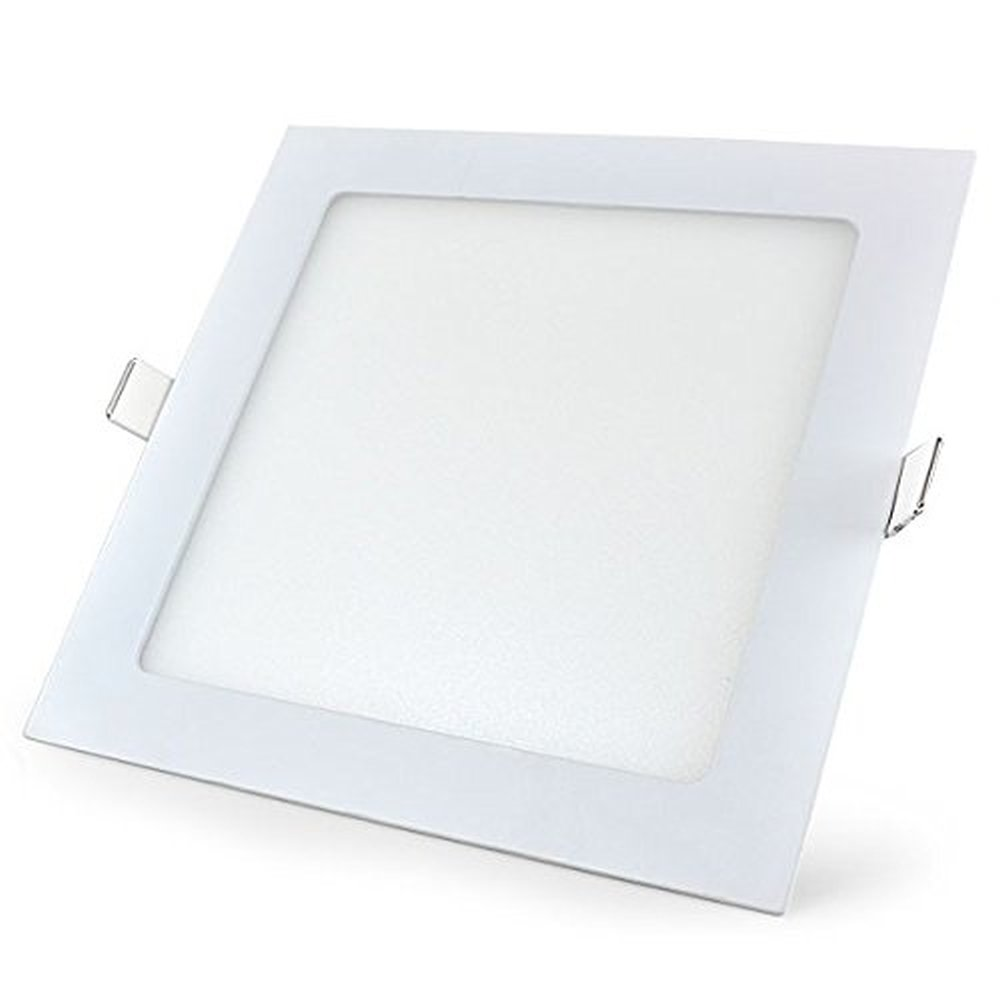 6 Watt LED Elite Square Panel Down Light - 80 mm, White