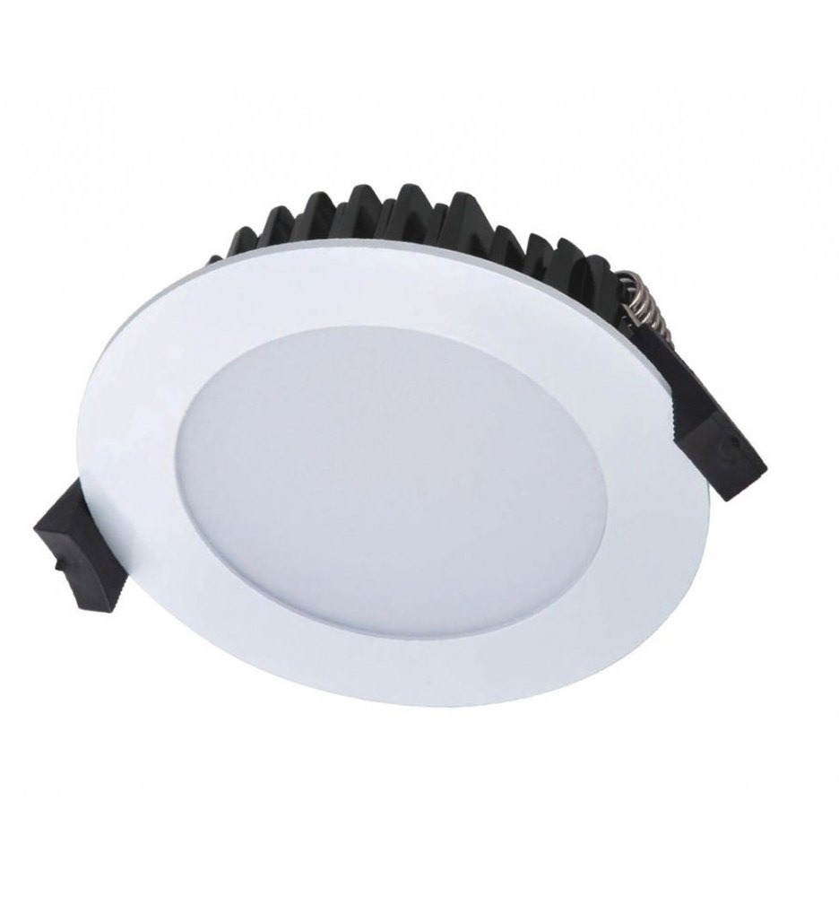 7 Watt LED Waves Round Down Light - 97 mm, White