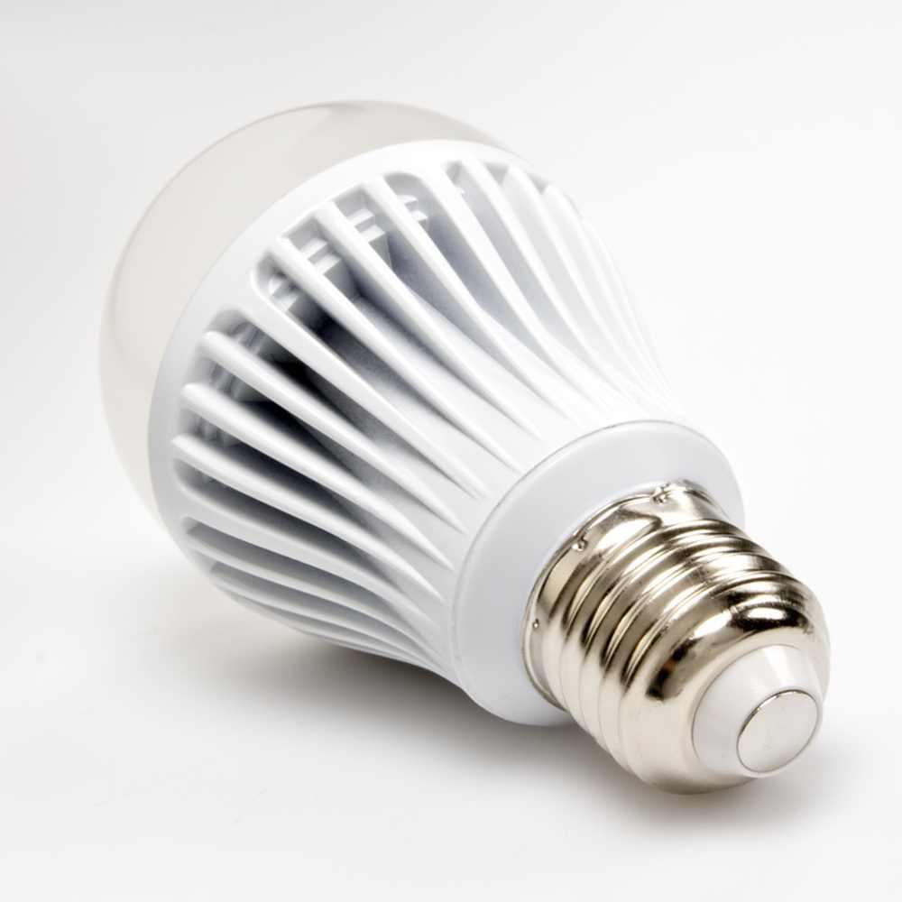 9 Watt LED Bulb - 220 Volt AC - 60 mm, White