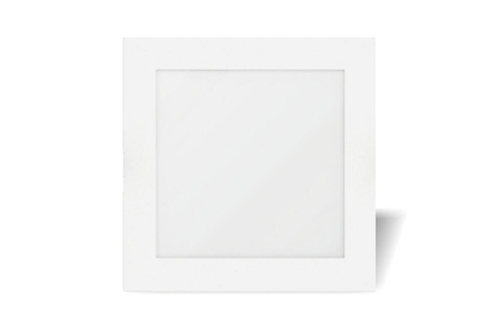 9 Watt LED Sleek Square Down Light - 110 mm, White