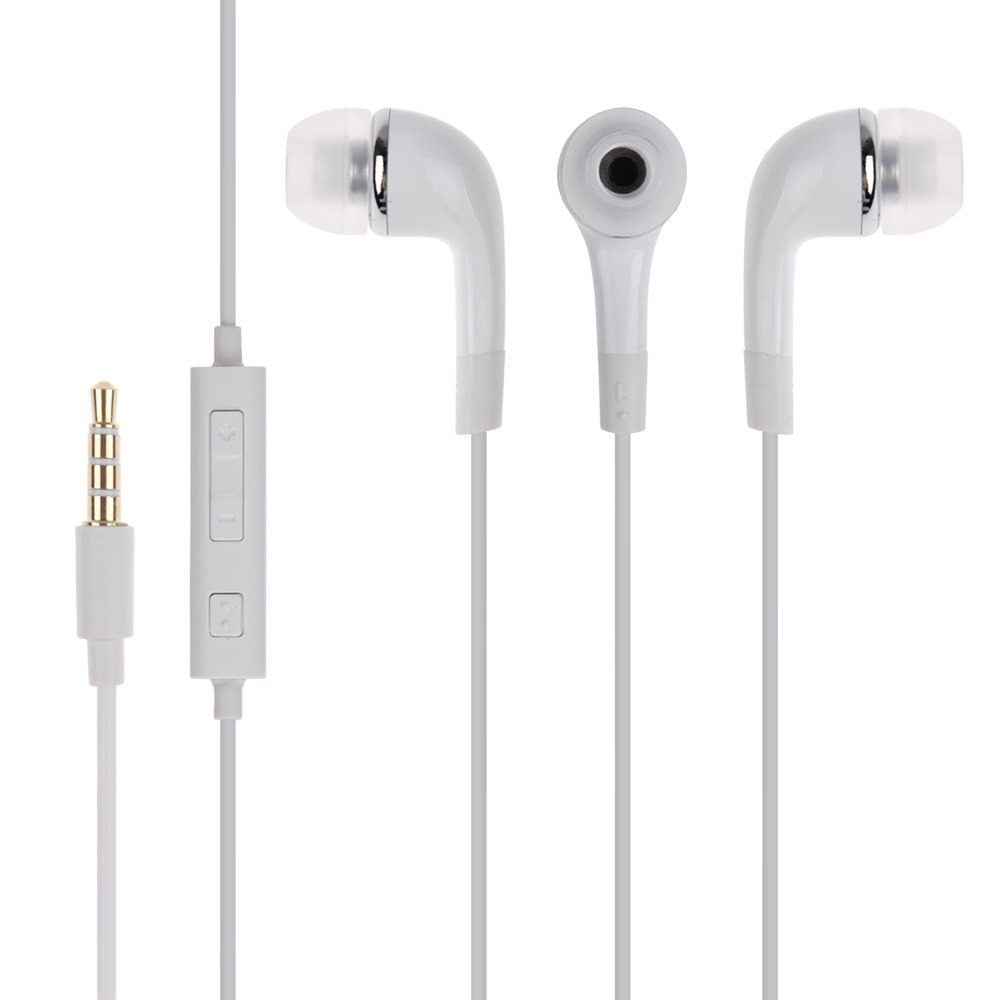 Earphone for Karbonn K9 Jumbo - Handsfree, In-Ear Headphone, 3.5mm, White