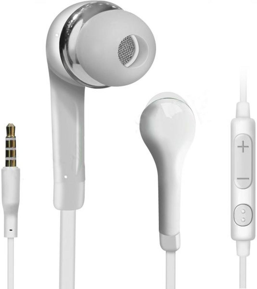 Earphone for Lava Iris X5 - Handsfree, In-Ear Headphone, 3.5mm, White