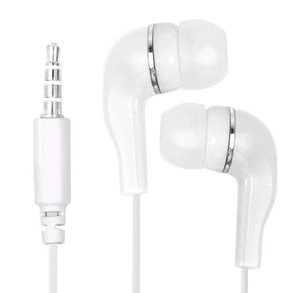 Earphone for Lava Iris X8 - Handsfree, In-Ear Headphone, 3.5mm, White