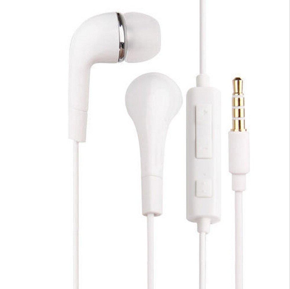 Earphone for Motorola Moto G2 - Handsfree, In-Ear Headphone, White