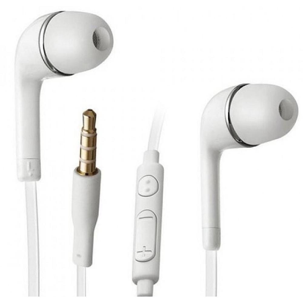 Earphone for Samsung E250 - Handsfree, In-Ear Headphone, White