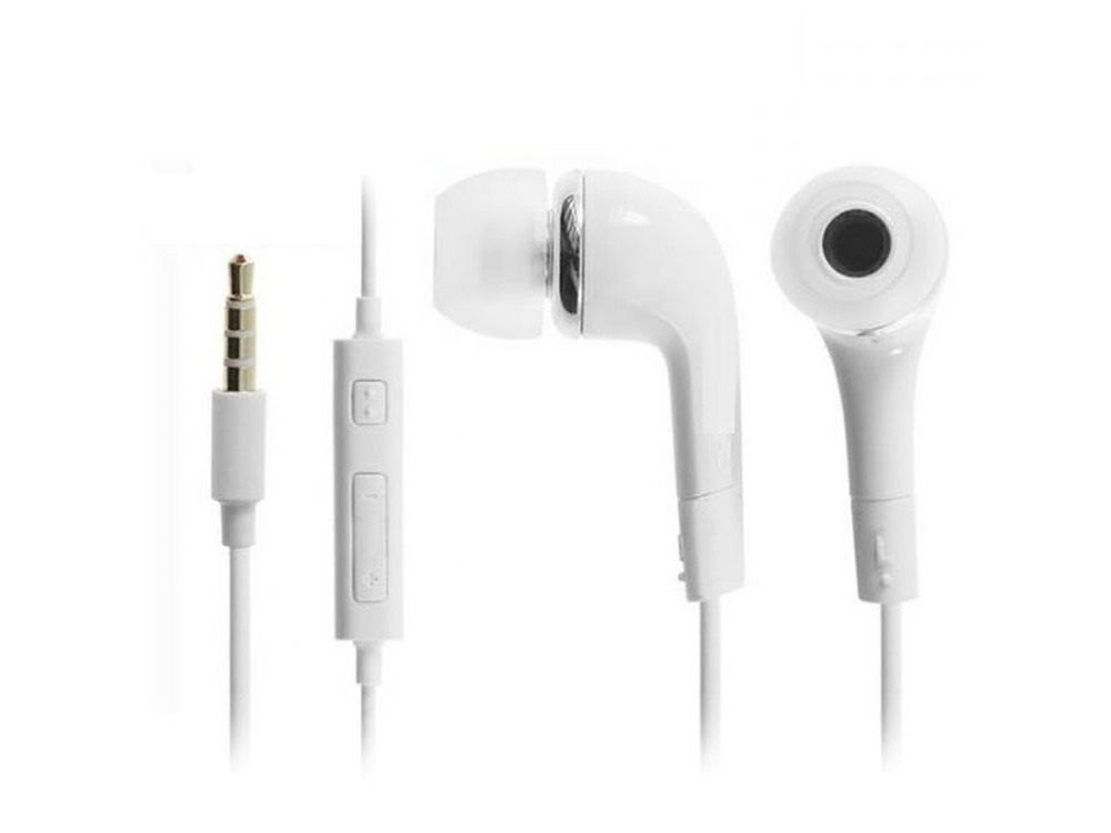 Earphone for Sony Xperia C3 Dual D2502 - Handsfree, In-Ear Headphone, White