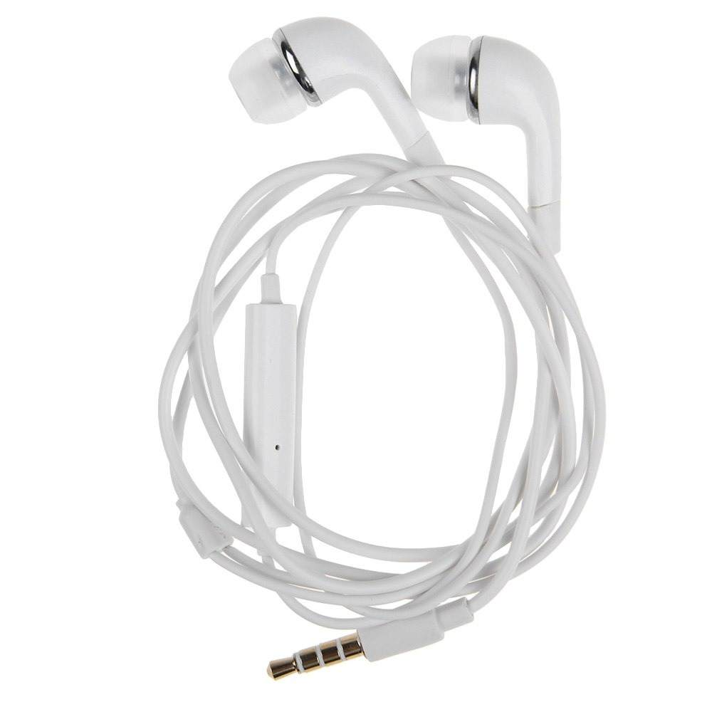 Earphone for vivo Y28 - Handsfree, In-Ear Headphone, 3.5mm, White