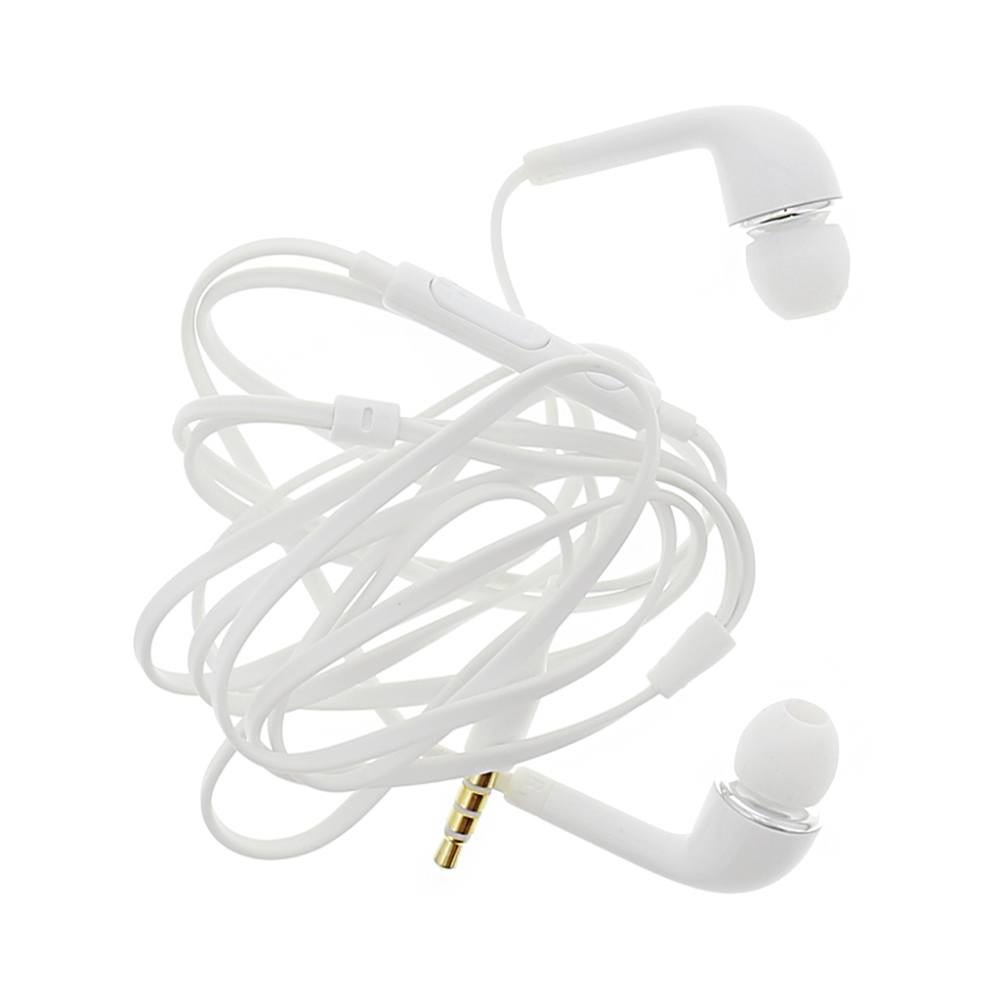 Earphone for 3 Skypephone S1 - Handsfree, In-Ear Headphone, White