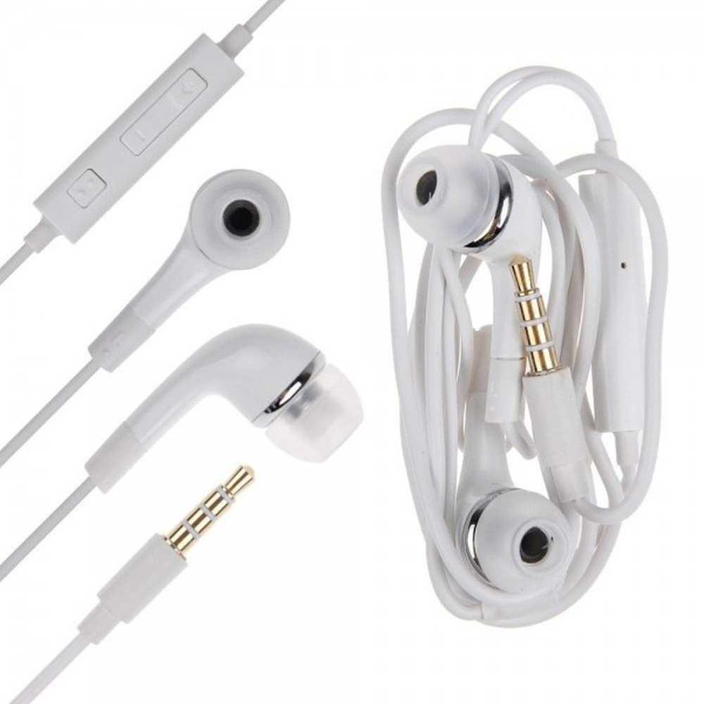Earphone for Vivo Y11 - Handsfree, In-Ear Headphone, White