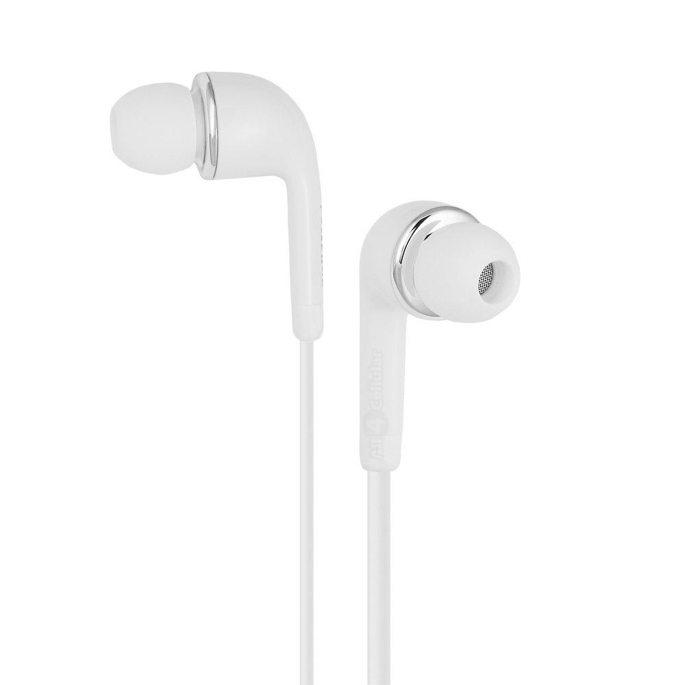 Earphone for Samsung Galaxy J2 - Handsfree, In-Ear Headphone, 3.5mm, White