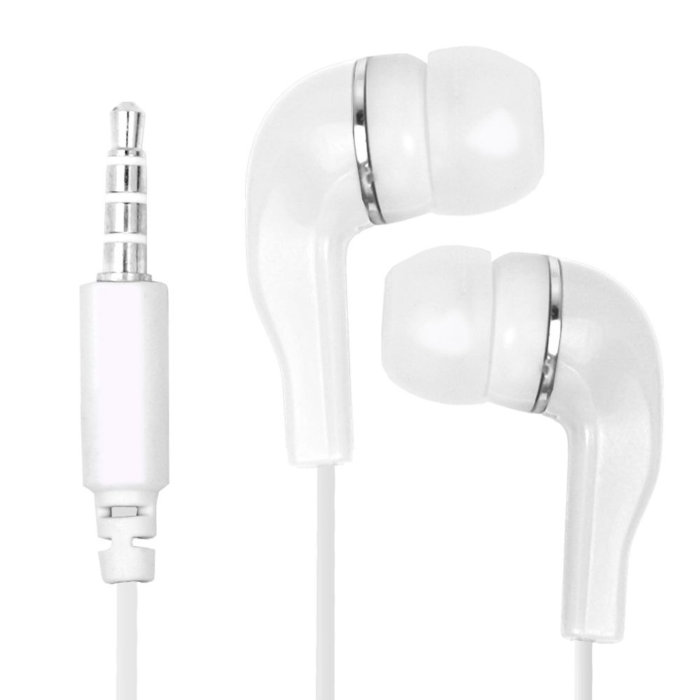 Earphone for Samsung Galaxy On7 - Handsfree, In-Ear Headphone, 3.5mm, White