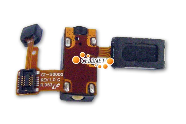 Handsfree Flex for Samsung Jet S8000 with Mic