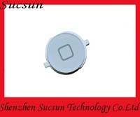Home button key for Apple iPhone 4 White