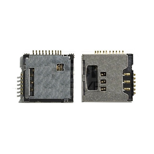 SIM Card & Memory Card Reader Part for Samsung S5230 Tocco Lite & LG KP 500 with FLEX