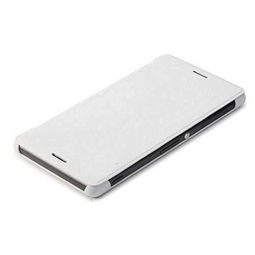 save off df077 9ad6f Flip Cover for Sony Xperia Z3 Plus - White