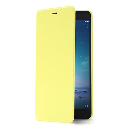 san francisco 28a45 48d17 Flip Cover for Xiaomi Redmi Note Prime - Yellow