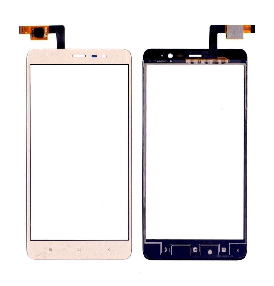 Touch Screen Digitizer For Xiaomi Redmi Note 3 32gb Gold By - Maxbhi Com