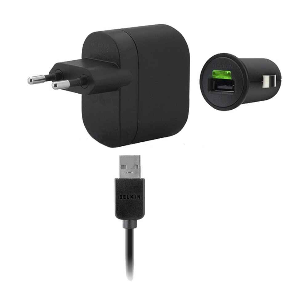 3 In 1 Charging Kit For Samsung B310 With Wall Charger Car Usb