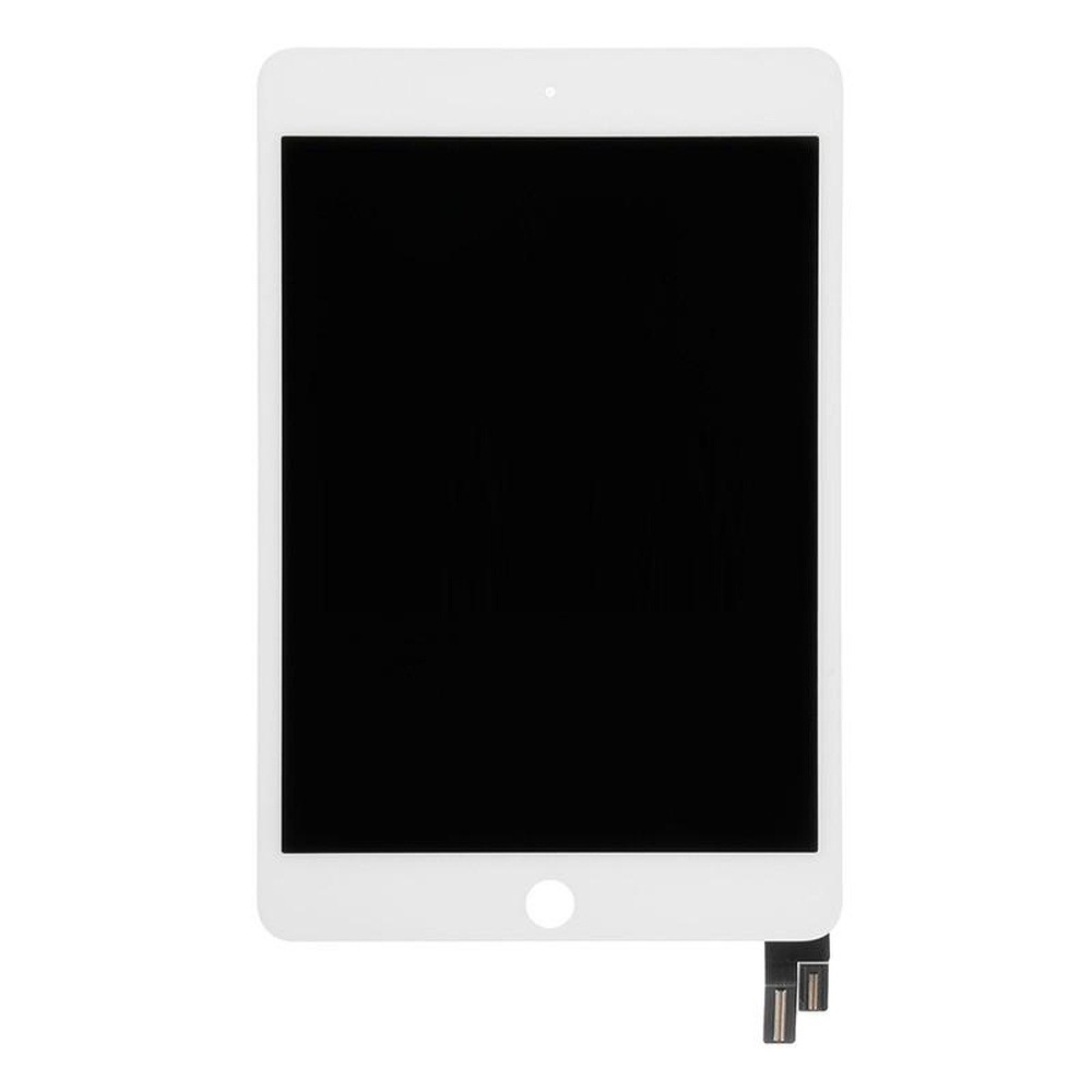 Lcd With Touch Screen For Apple Ipad Mini 4 Wifi 16gb White Complete Assembly Folder Black