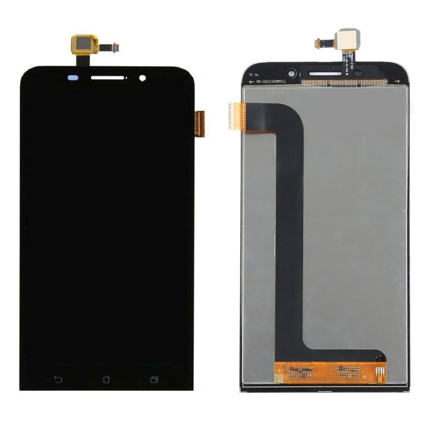 Lcd With Touch Screen For Asus Zenfone Max Zc550kl Black By - Maxbhi Com