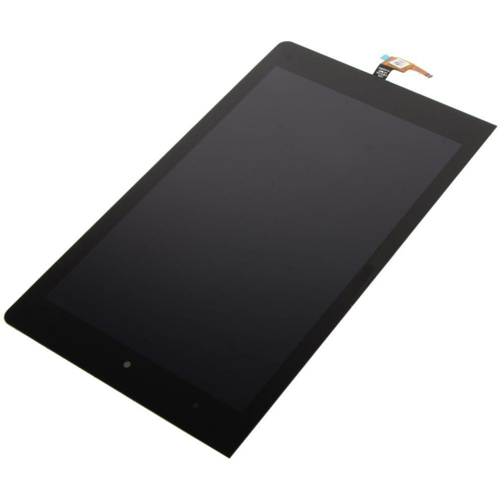 LCD with Touch Screen for Lenovo Yoga Tab 3 8 0 - Black (display glass  combo folder)