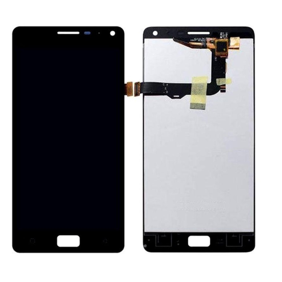 LCD with Touch Screen for Lenovo Vibe P1 - Black (display glass combo  folder)