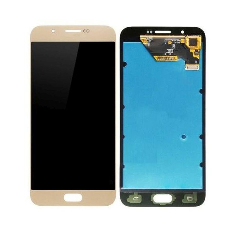 Lcd With Touch Screen For Samsung Galaxy A8 Gold By - Maxbhi Com