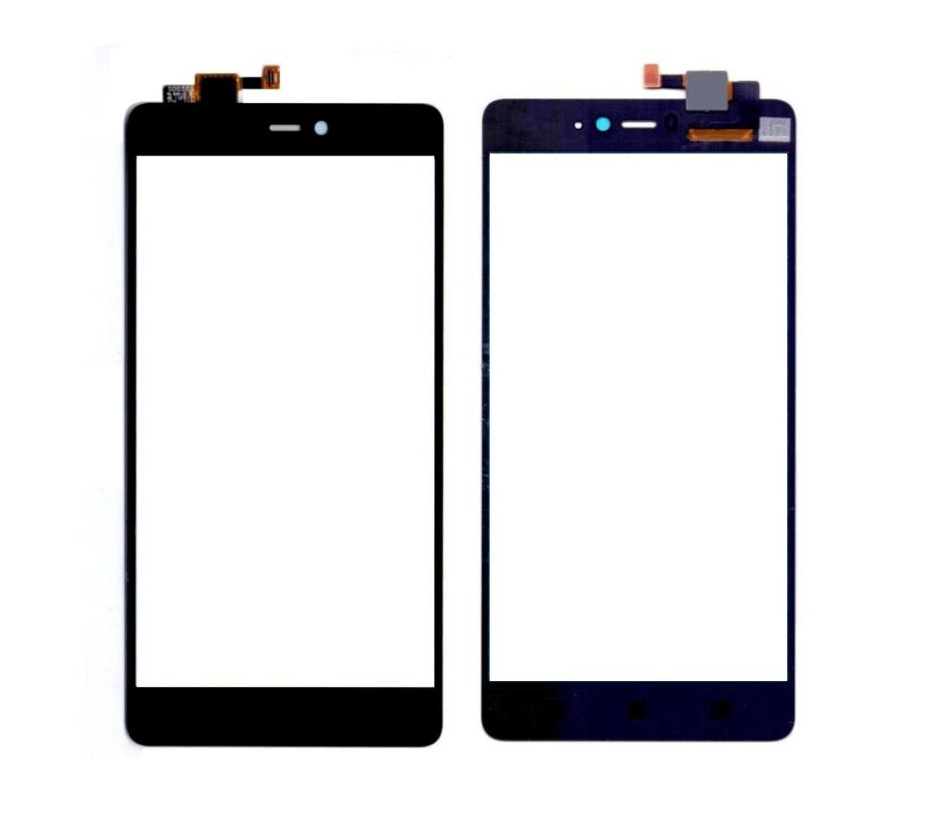 Touch Screen Digitizer For Xiaomi Mi4i Black By - Maxbhi Com