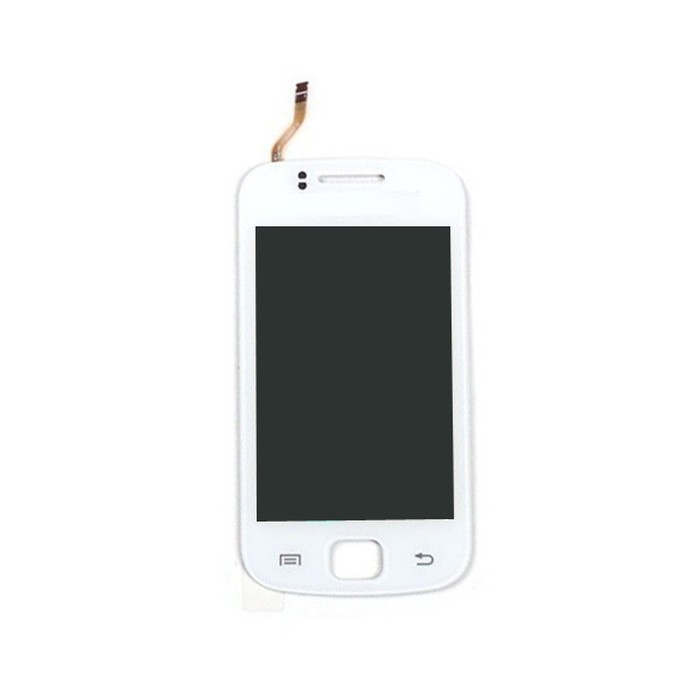 Lcd With Touch Screen For Samsung Galaxy Gio S5660 White By - Maxbhi.com
