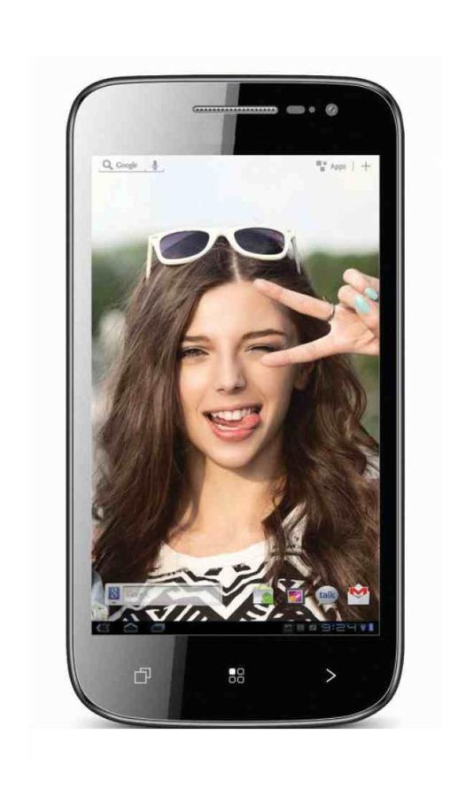 Lcd With Touch Screen For Mitashi Android Mobile Ap101 White By - Maxbhi.com