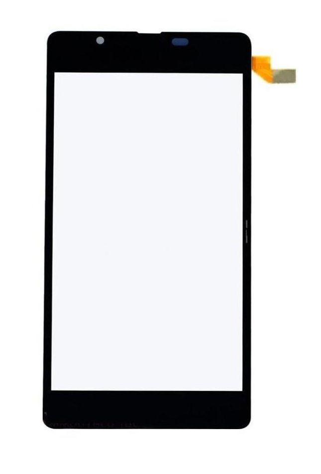 Touch Screen Digitizer For Microsoft Lumia 540 Dual Sim Blue By - Maxbhi.com