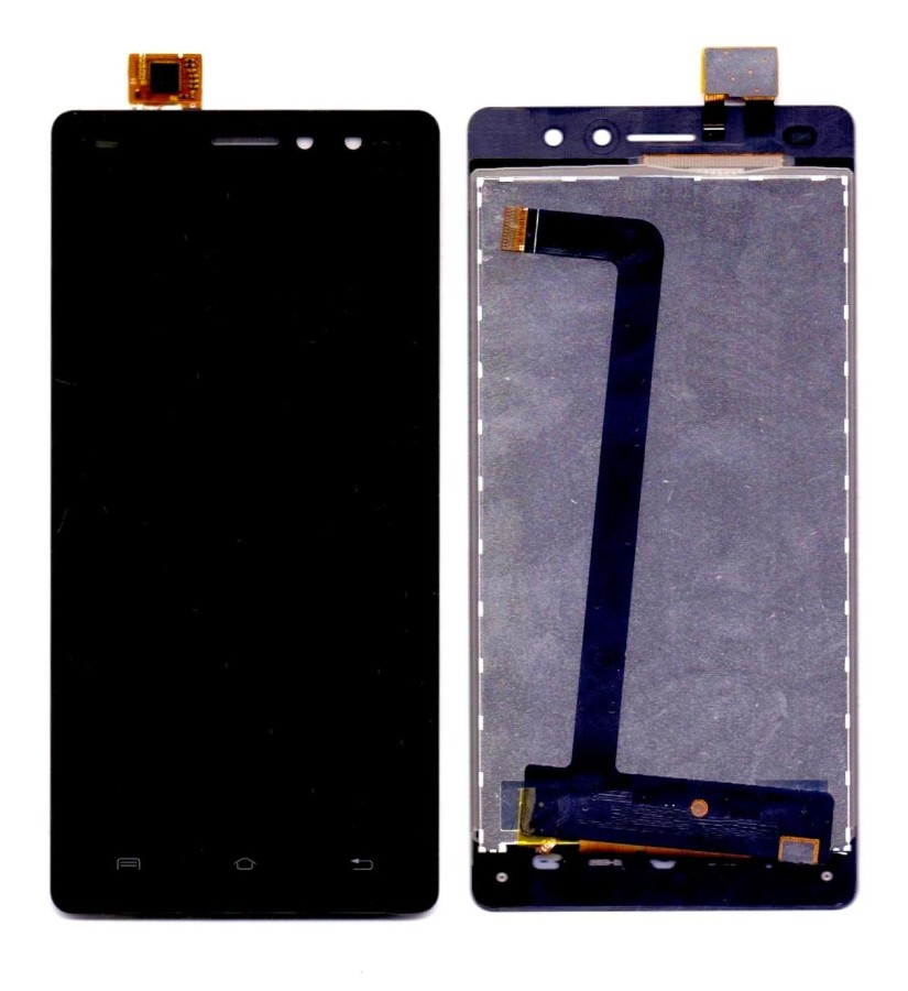 Lcd With Touch Screen For Xolo Era 4g Black By - Maxbhi Com