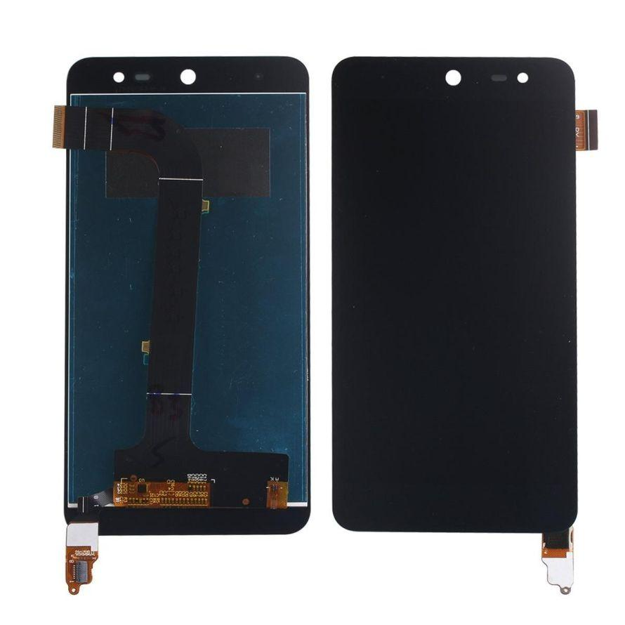 LCD with Touch Screen for Wileyfox Swift - Black (display glass combo  folder)