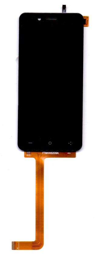 Lcd With Touch Screen For Swipe Elite 2 Black By - Maxbhi.com